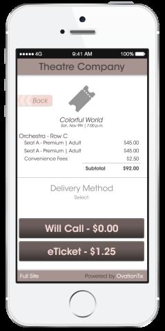 Choose Delivery Method