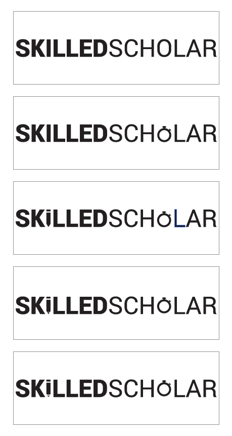 I wanted to give hints about what the SkilledScholar web app would do.